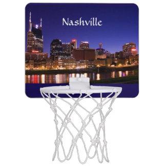 Nashville Skyline Mini Basketball Backboard