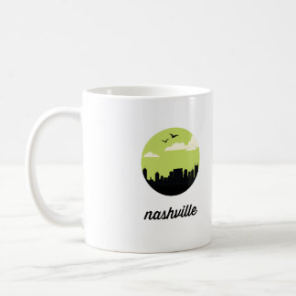 Nashville skyline   Nashville, Tennessee Coffee Mug