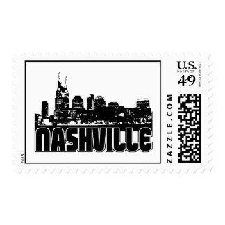 Nashville Skyline Postage