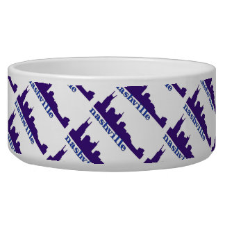 Nashville Skyline Purple Bowl