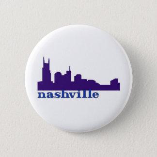 Nashville Skyline Purple Button