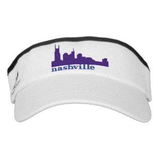 Nashville Skyline Purple Headsweats Visor