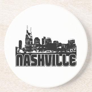 Nashville Skyline Sandstone Coaster