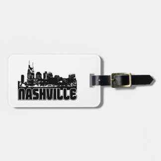 Nashville Skyline Tag For Luggage