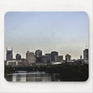 Nashville Skyline Watercolor Mousepad