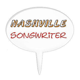 Nashville Songwriter Cake Topper