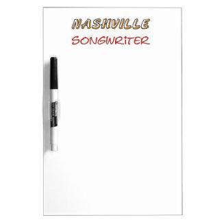 Nashville Songwriter Dry-Erase Board