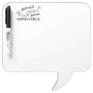 Nashville Sound Check Dry Erase Board
