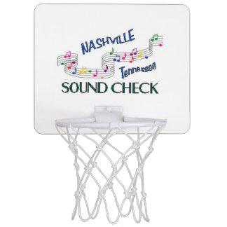 Nashville Sound Check Mini Basketball Backboards