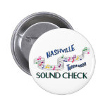 Nashville Sound Check Pin