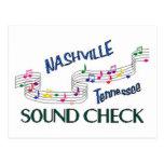 Nashville Sound Check Post Card