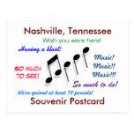 Nashville Souvenir Post Card