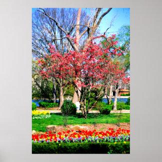 Nashville spring print