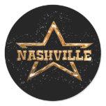 Nashville Star Classic Round Sticker
