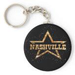 Nashville Star Keychain
