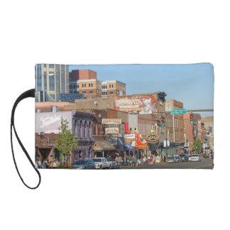Nashville Street Scene Wristlet