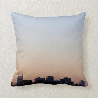 Nashville Sunrise Throw Pillow