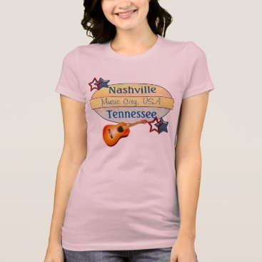 USA Themed Nashville T-shirt - Music City USA