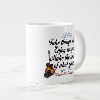 Nashville Take Things Slow Jumbo Mug