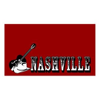 Nashville Tarjetas De Visita