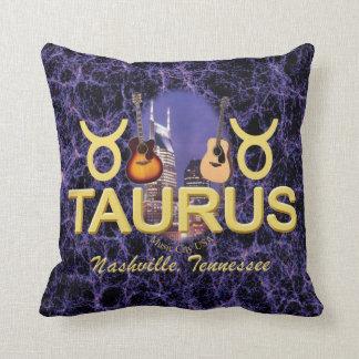 """Nashville Taurus Throw Pillow 16"""" x 16"""""""