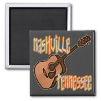 NASHVILLE TENNESSEE 2 INCH SQUARE MAGNET