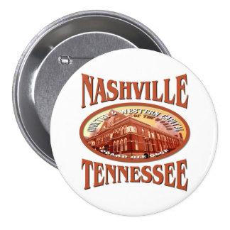 Nashville Tennessee 3 Inch Round Button