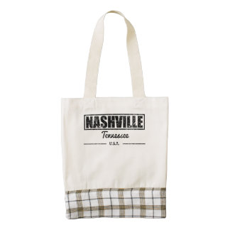 Nashville Tennessee Bolsa Tote Zazzle HEART