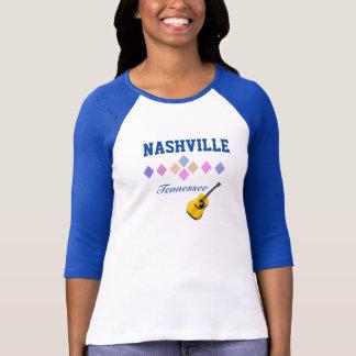 Nashville - Tennessee - camiseta del recuerdo