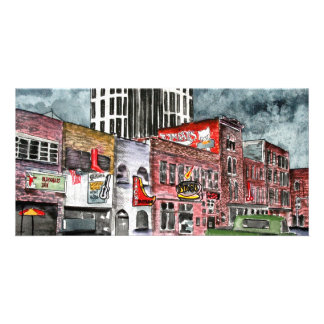 nashville tennessee country music capital art card