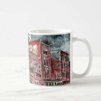 nashville tennessee country music capital art coffee mug