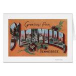 Nashville, Tennessee - escenas grandes de la letra Tarjeta De Felicitación