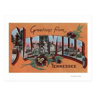 Nashville, Tennessee - escenas grandes de la letra Tarjeta Postal