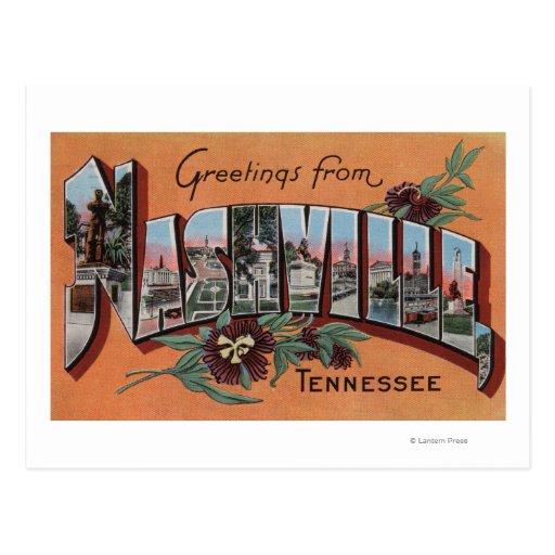 Nashville, Tennessee - escenas grandes de la letra Postal