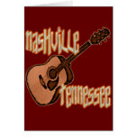 NASHVILLE TENNESSEE GREETING CARD