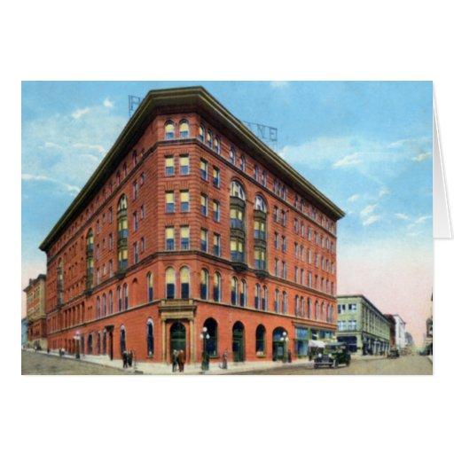 Nashville Tennessee Hotel Tulane Greeting Card