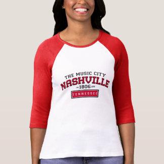 NASHVILLE Tennessee INC 1806 Nickname RAGLAN Tee