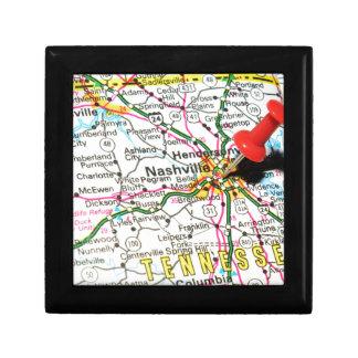 Nashville, Tennessee Jewelry Box