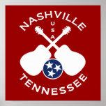 Nashville, Tennessee los E.E.U.U. Posters