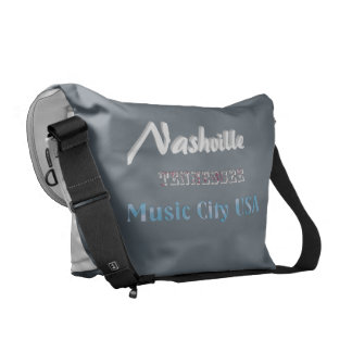 Nashville Tennessee - Messenger Bag