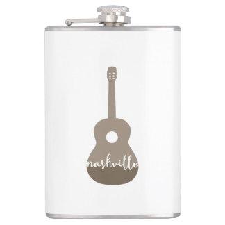 Nashville, Tennessee   Music City flask
