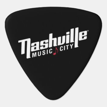 Nashville Tennessee Music City Usa Guitar Pick by paul68 at Zazzle