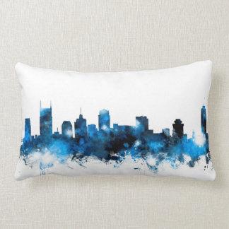 Nashville Tennessee Skyline Lumbar Pillow