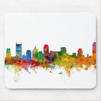 Nashville Tennessee Skyline Mouse Pad