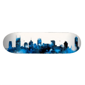 Nashville Tennessee Skyline Skateboard Deck