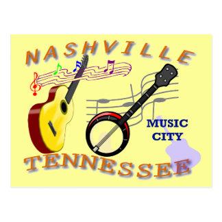 Nashville Tennessee Tarjeta Postal