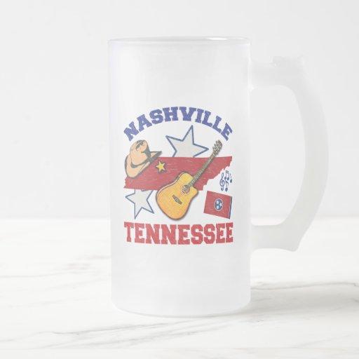 Nashville, Tennessee Taza De Cristal