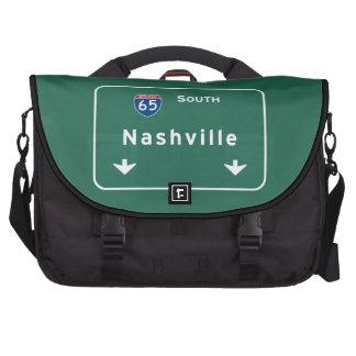 Nashville Tennessee tn Interstate Highway Freeway Laptop Bag