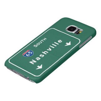 Nashville Tennessee tn Interstate Highway Freeway Samsung Galaxy S6 Case