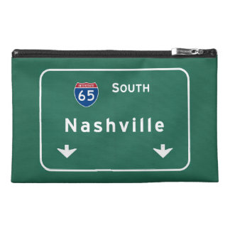 Nashville Tennessee tn Interstate Highway Freeway Travel Accessory Bags